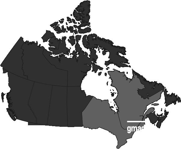 Maps canada - qc- gmad
